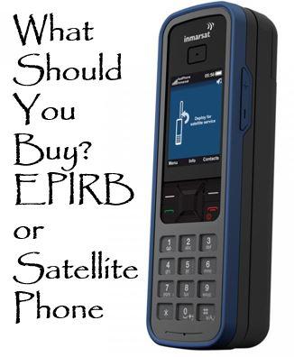 sat or epirb