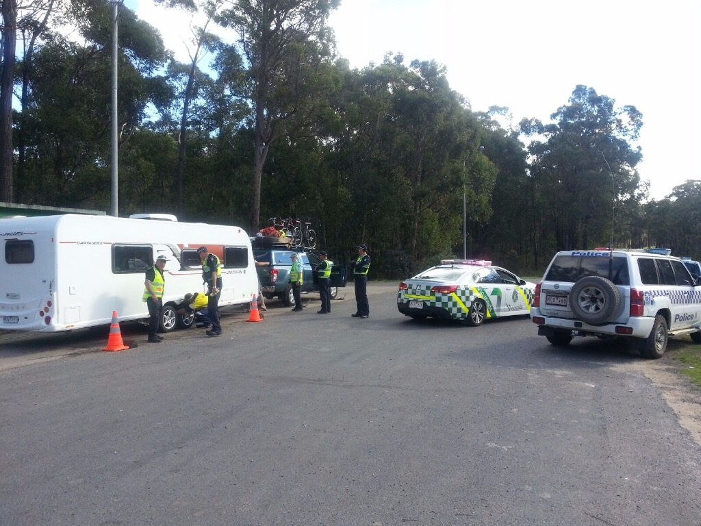 vic roads and vic police