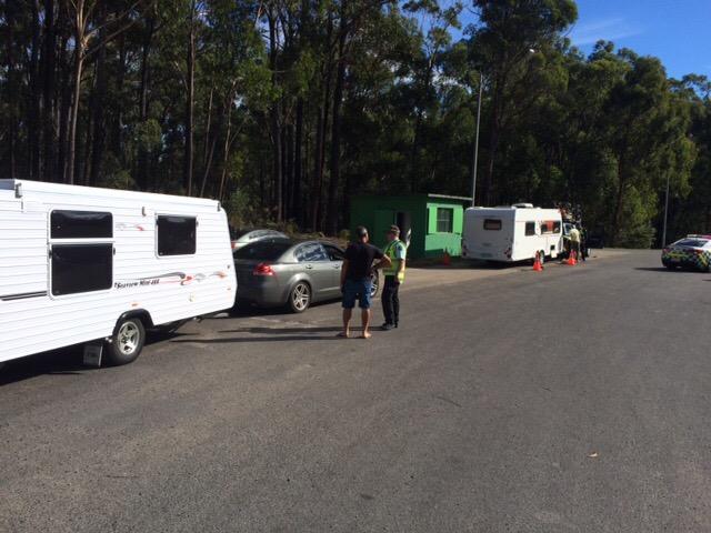 caravan weigh station