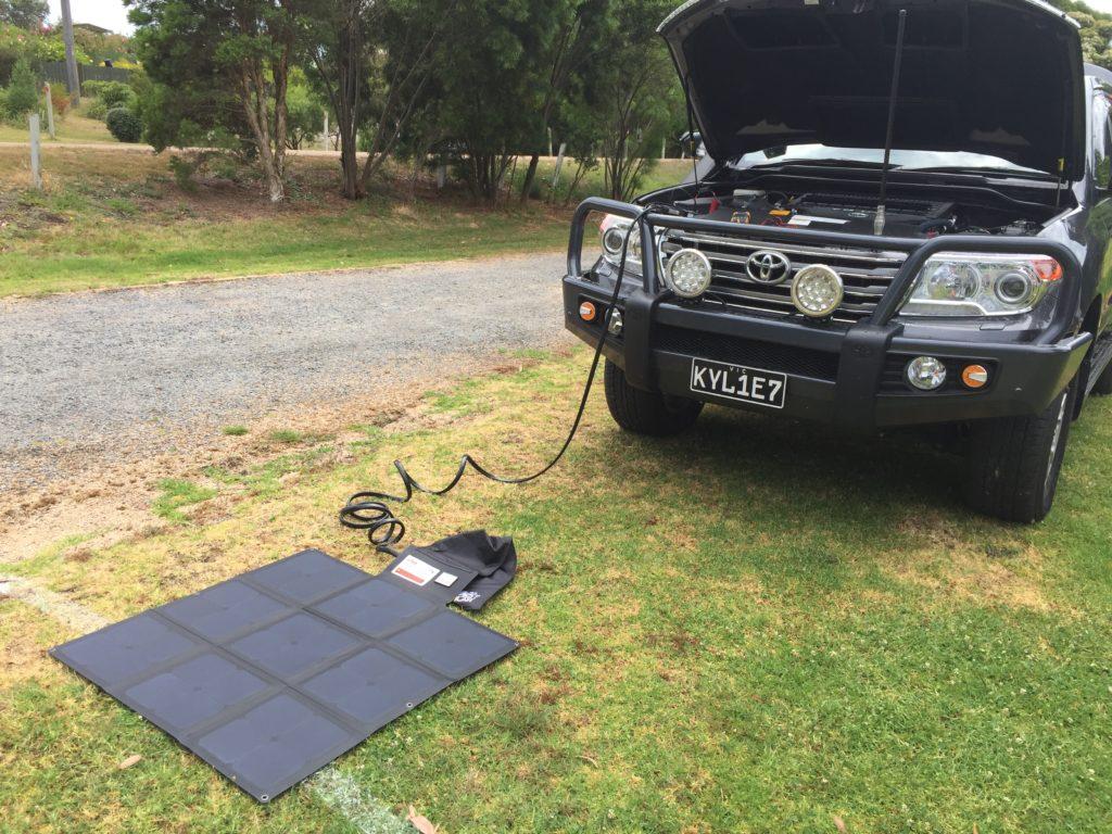Redarc Solar Blanket Sunpower Cell Review Rveethereyet Panel Car Toyota